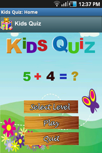 Android application Kids Quiz | Best SEO and Web Application