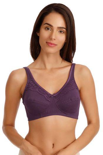 335b4db433d Zivame Double Layered Wirefree Bra - Lavender zivame nightwear