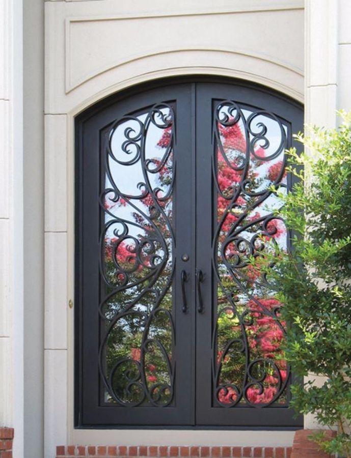 Wrought Iron Doors | Kings Building Material & Wrought Iron Doors | Kings Building Material | For the Home ...