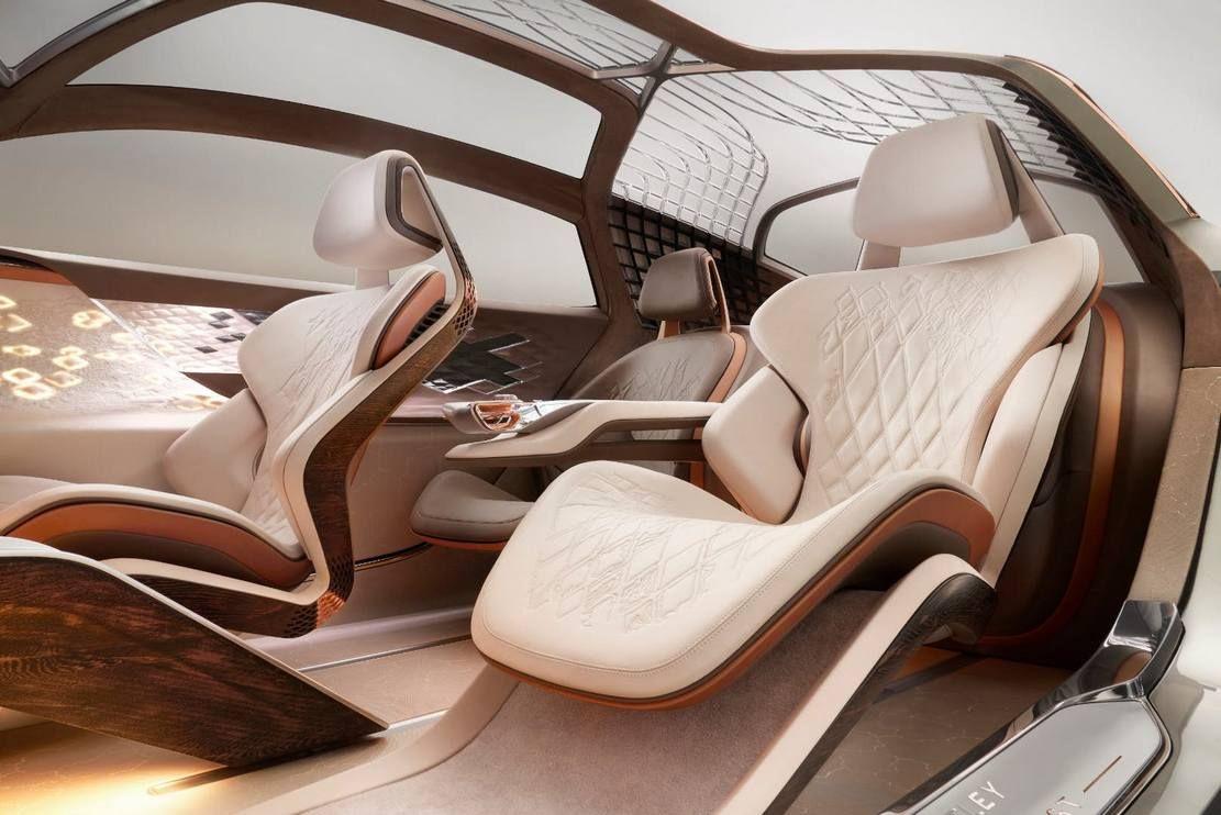 Bentley Exp 100 Gt τhe Future Of Grand Touring Wordlesstech Intérieurs De Voiture Intérieur Voitures De Luxe Voitures Design