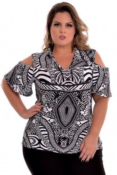 766706bb61f1 Blusa Plus Size Chilena | Proyecto Tesina | Roupas femininas, Blusas ...