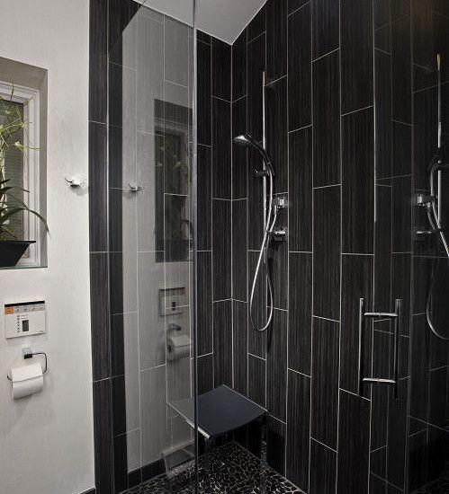 Modern bathroom showers 1000 images about master bath on pinterest master  bathroom shower vertical shower tile  Ideas Bathroom Proud Ceiling Rain Head Shower Feat Modern Bathroom  . Modern Bathroom Floor Tile. Home Design Ideas