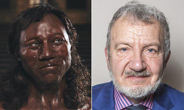 Photo of Retired history teacher believes he looks like Cheddar Man