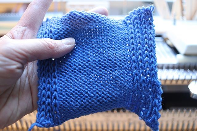 How To Knit A Half Milano Stitch On A Knitting Machine New Video