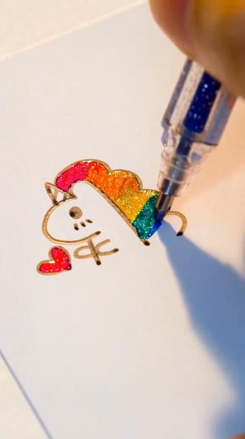 """Photo of Glitter Unicorn.?www.paperhouse.me?Get 10% OFF with code """"PIN10""""?"""