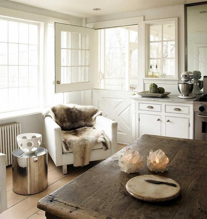 Imaginecozy Staging A Kitchen: Modern Cottage Kitchen Features A Stainless Steel Stove