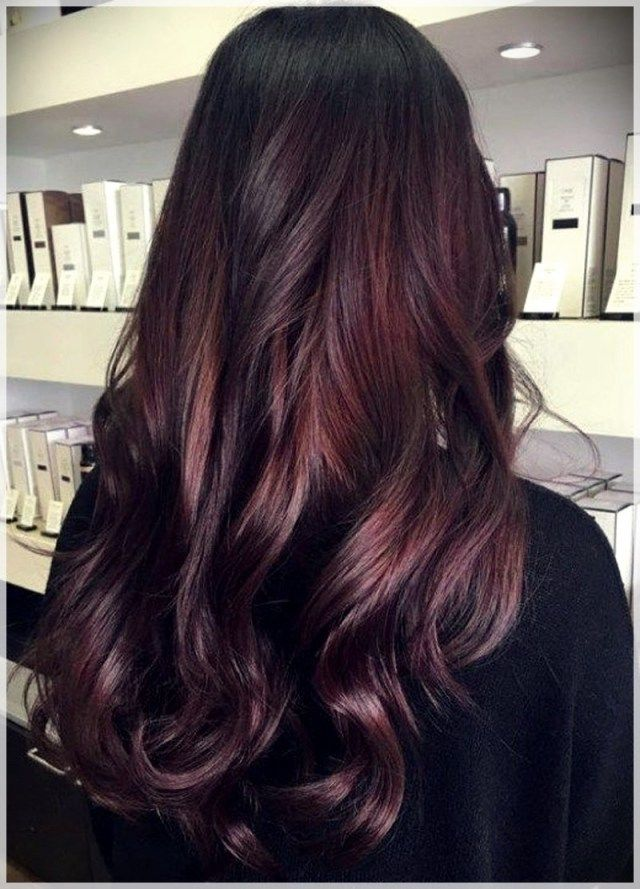 Fall Color Hairstyles 2019