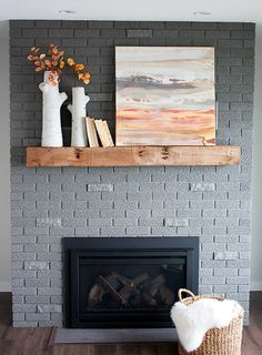 Gray paint colors and Bricks