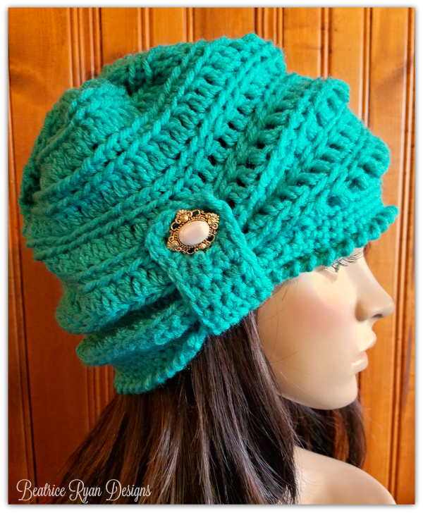 how to make a beanie out of yarn