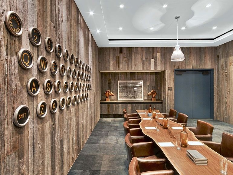 For The Lounge At The Markzeff Designed Hotel Van Zandt In Austin, Texas,
