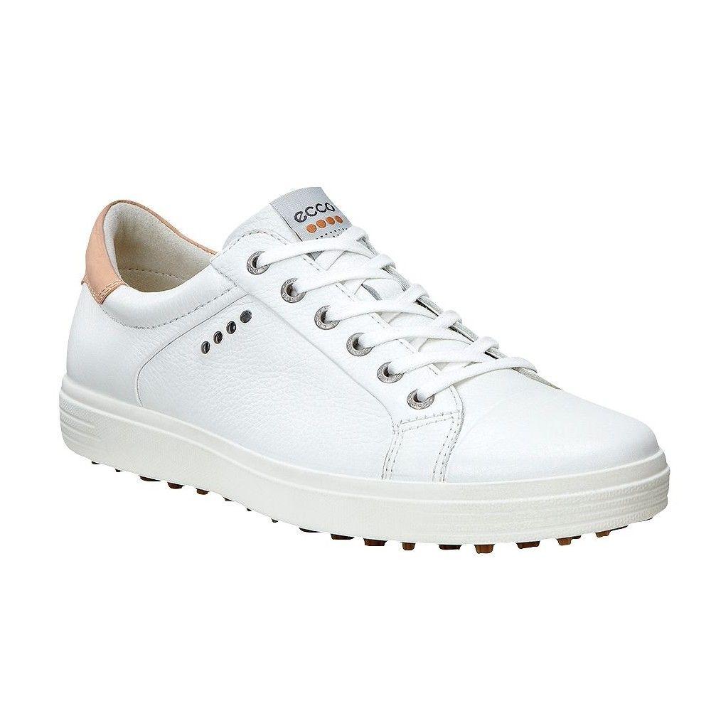 Ecco Men's Casual Hybrid Golf Shoes - White