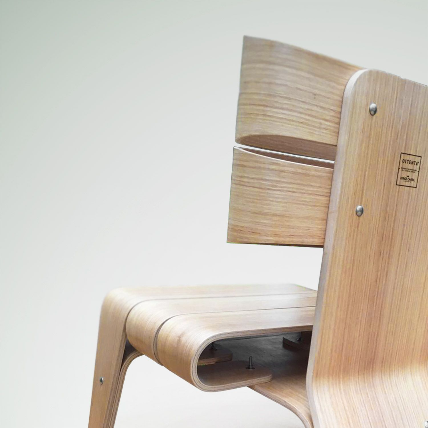 Modern Wood Accent Chair, Exclusive Scandinavian Accent Chair, Midcentury Living