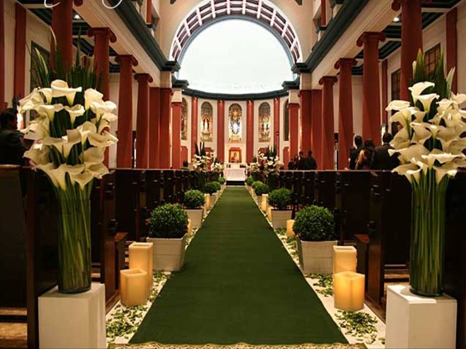 Pin by signature bride on planning reception ideas pinterest church decor very elegant junglespirit Image collections