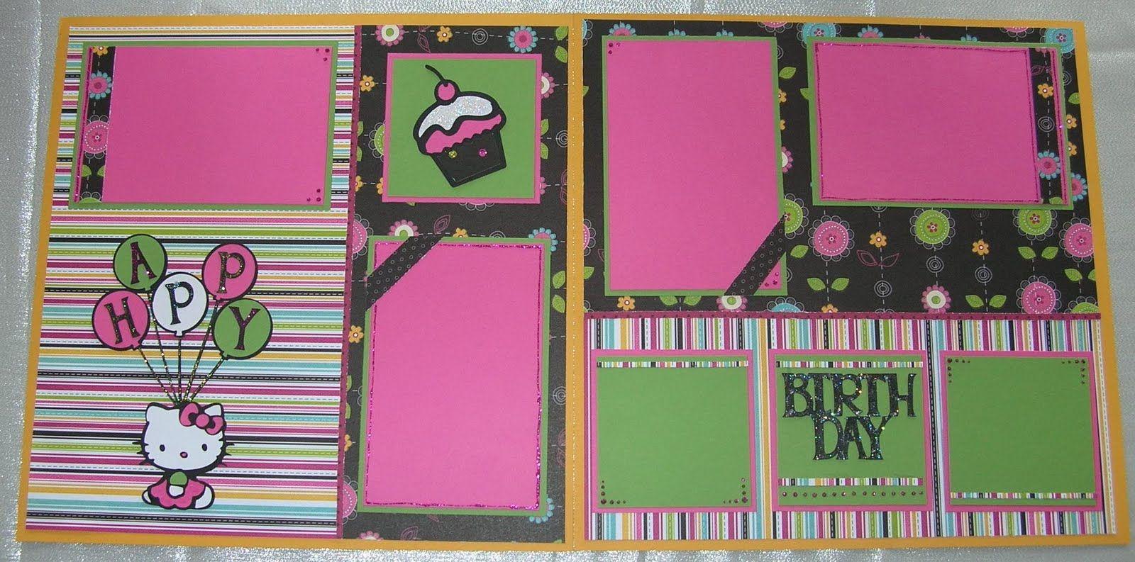 Hello kitty scrapbook ideas - Cricut Ideas Bee S Creative Designs New Hello Kitty Cricut Projects