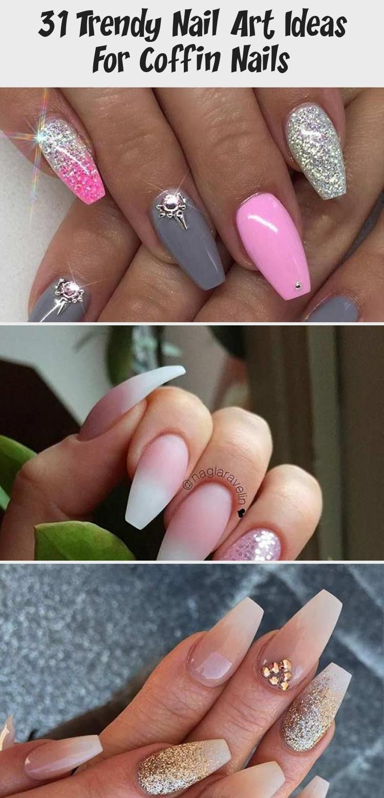Photo of 31 Trendy Nail Art Ideas For Coffin Nails – Nail Art