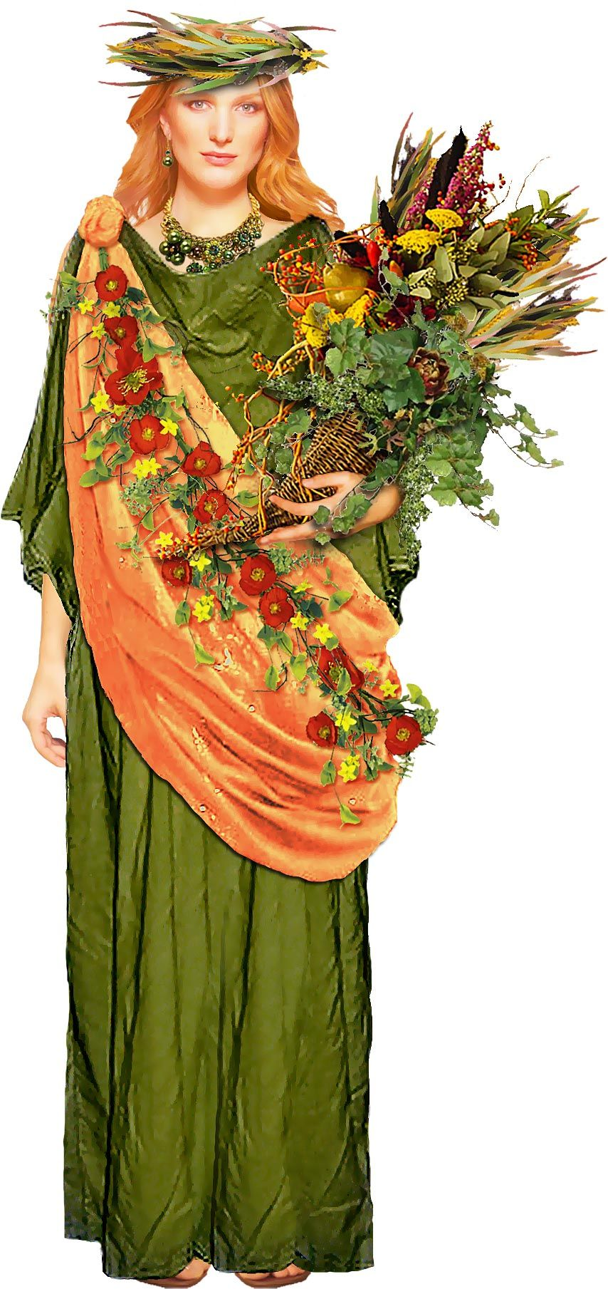 Demeter Is The Greek Goddess Of Agriculture And The Bountiful Earth