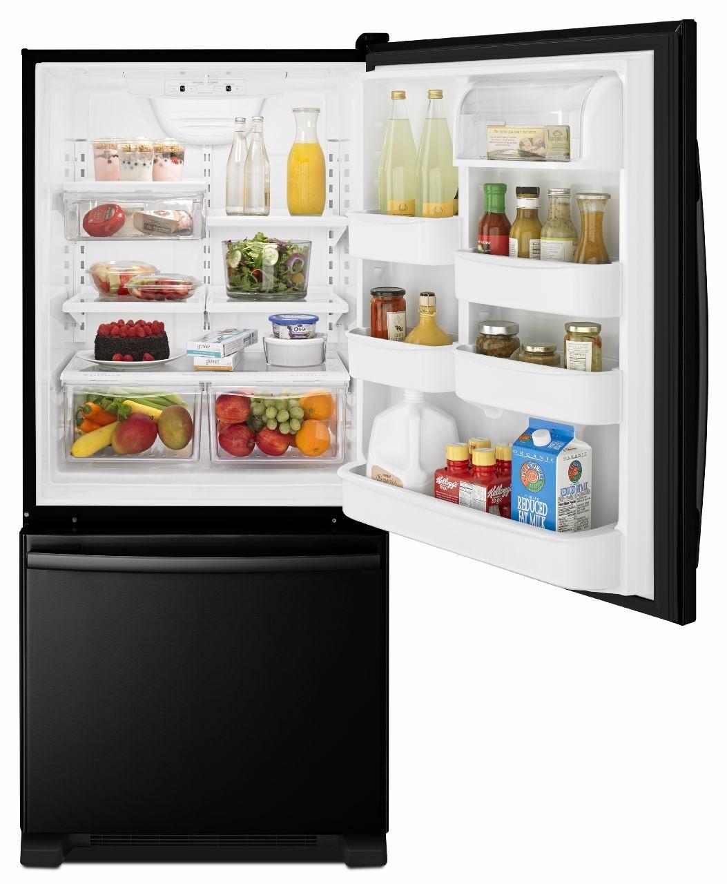 Amana Abb1924brb Bottom Freezer Refrigerator Refrigerator Freezer