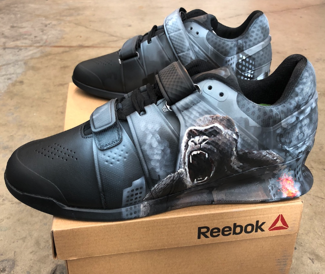 Reebok Legacy Lifters- The New Rampage Movie!  28ae0a6fa