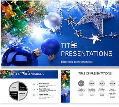 Congratulations On Christmas Powerpoint Presentation  Template
