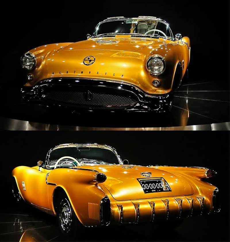 1954 Oldsmobile Rocket F88 — one of the world\'s rarest automobiles ...