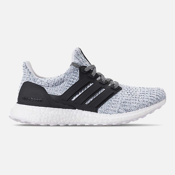new arrival 7dcce b9beb Right view of Women s adidas UltraBOOST Parley Running Shoes in Blue Spirit  Carbon White
