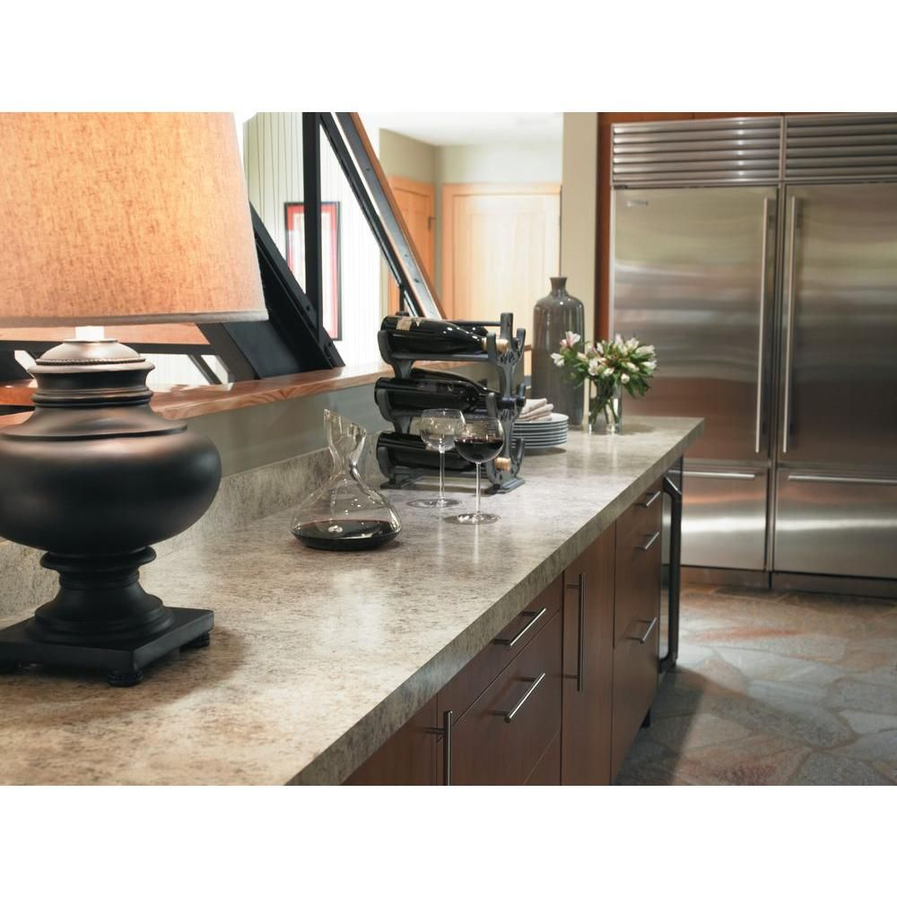 Formica 5 Ft X 12 Ft Laminate Sheet In Belmonte Granite With Matte 034961258512000 The Home Depot Laminate Countertops Countertops Laminate Kitchen
