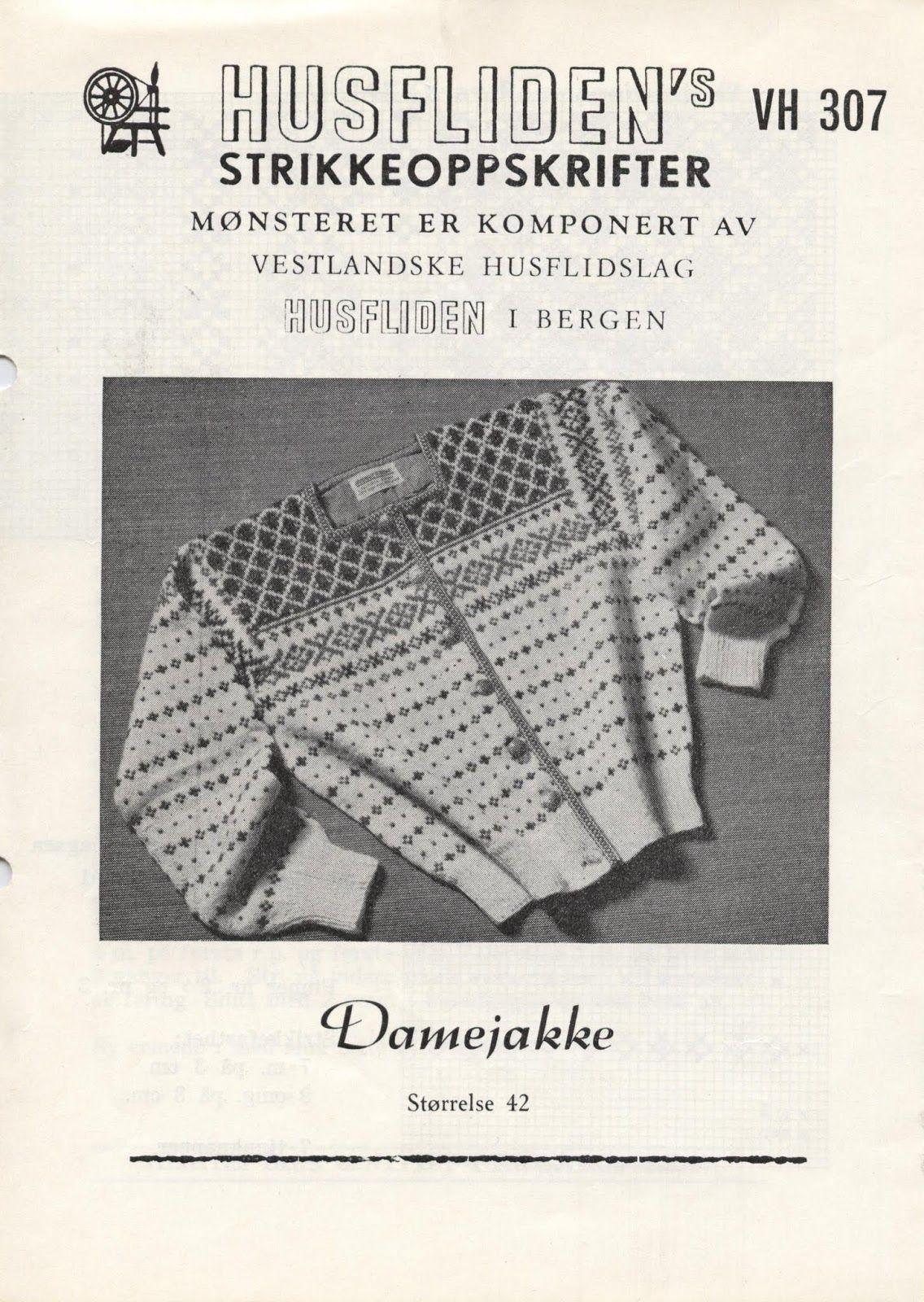 Photo of Husfliden VH 307 Damejakke