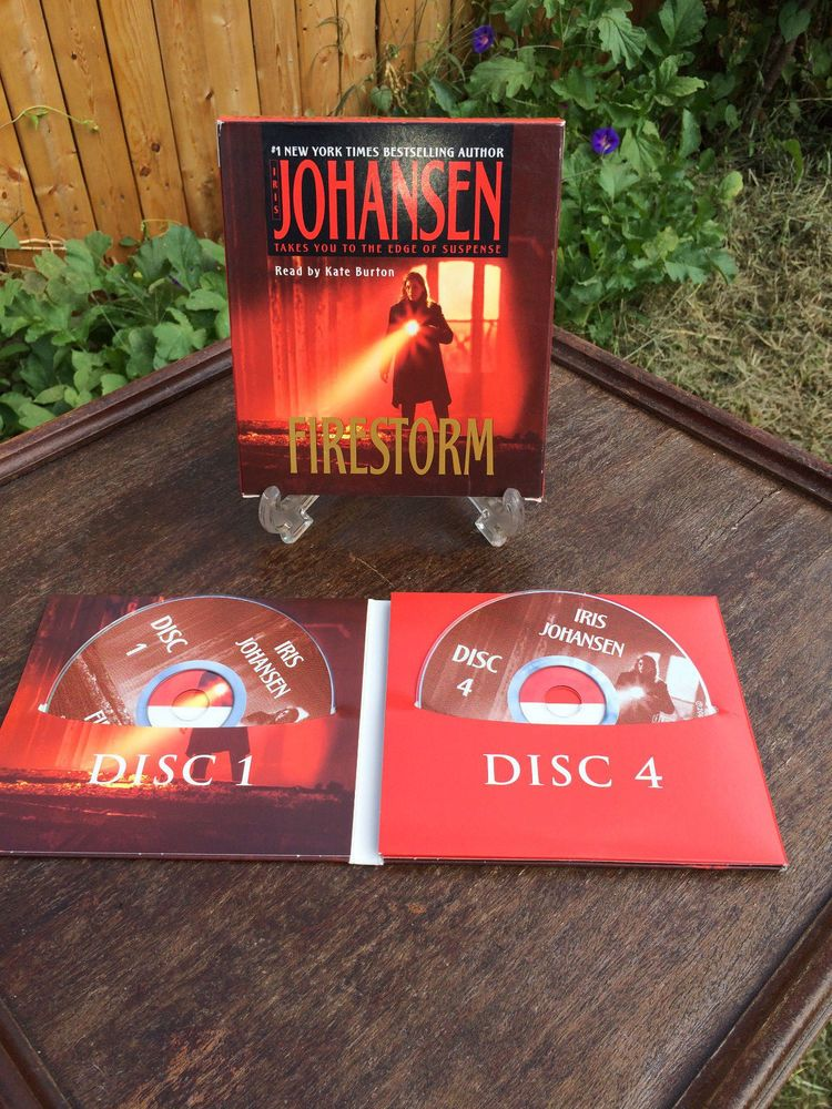 Firestorm By Iris Johansen 2005 Cd Abridged Media Must