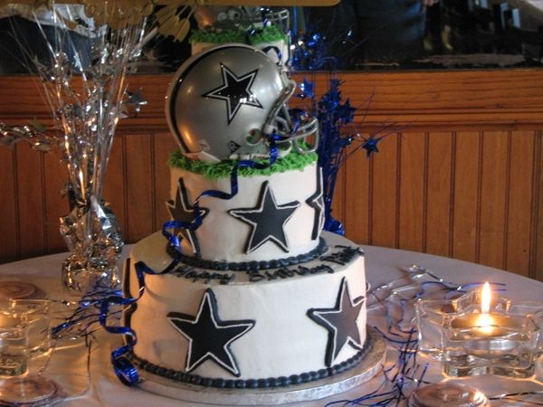 Dallas Cowboys Cake Im a Fan Pinterest Dallas cowboys