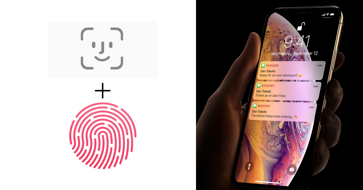 2021 iPhone will ship with both Face ID and Touch ID ...
