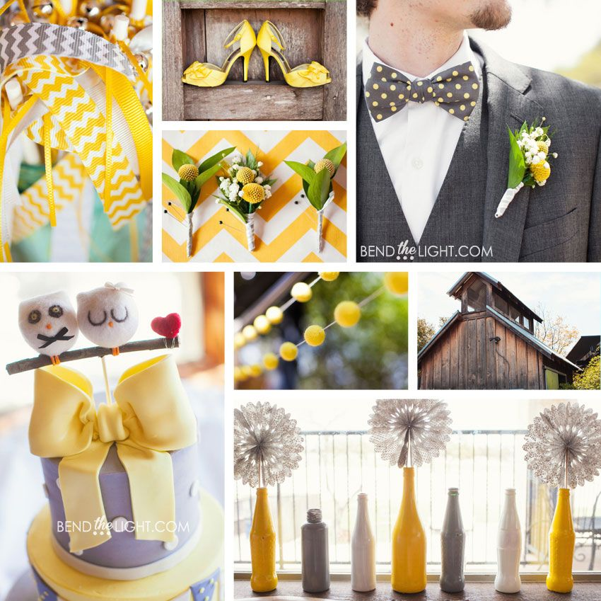 Tips for Clients} Add Some Color!! | Wedding colour schemes, Gray ...