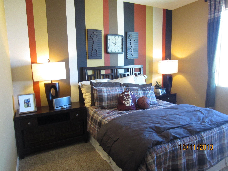 Teenage boy bedroom | Boys room blue, Boys room decor ...