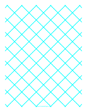 This Graph Paper For Quilting Has One Diagonal Line Every Inch