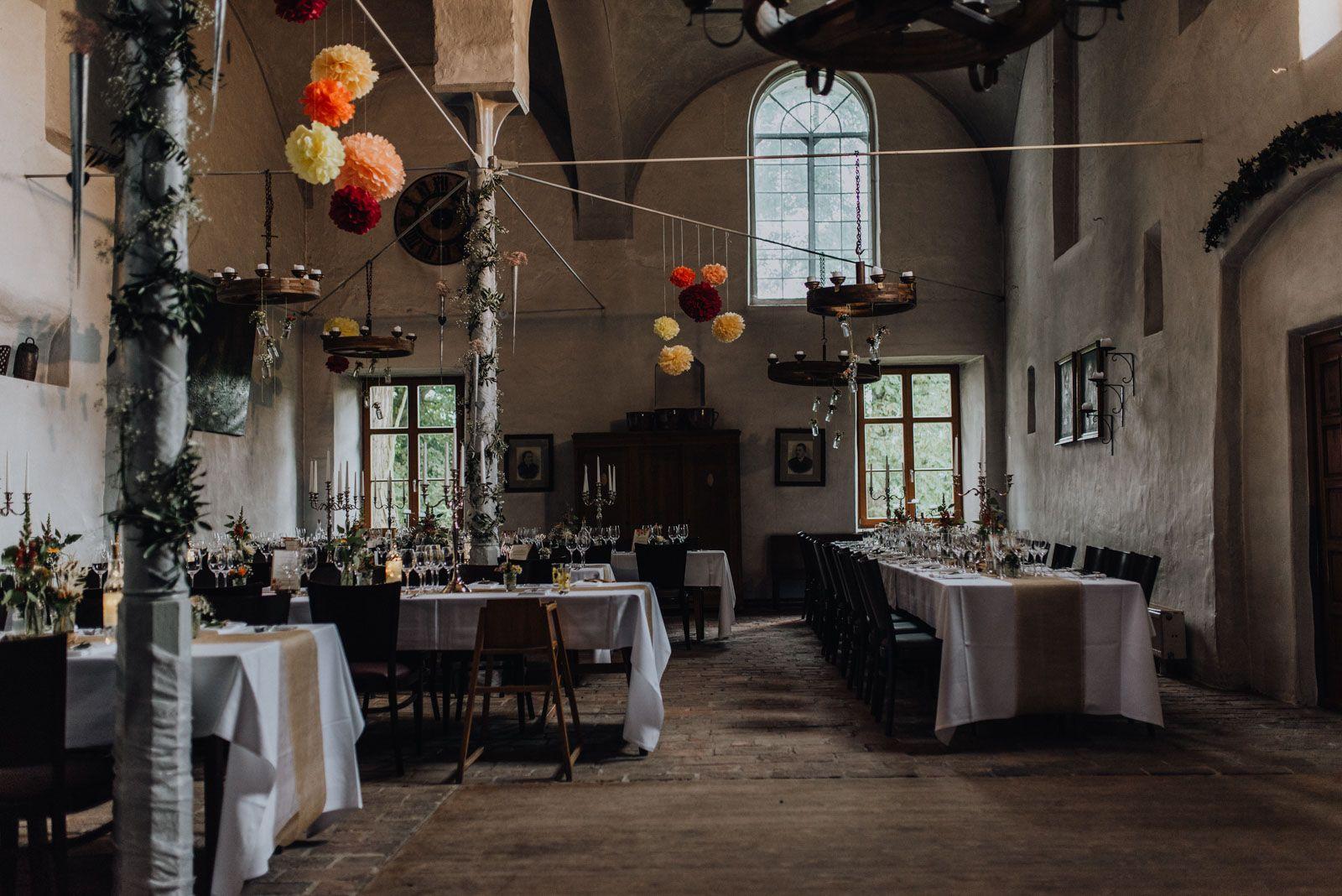 Hochzeitsdeko Schloss Burg Schloss Standesamtliche Hochzeit Hochzeit