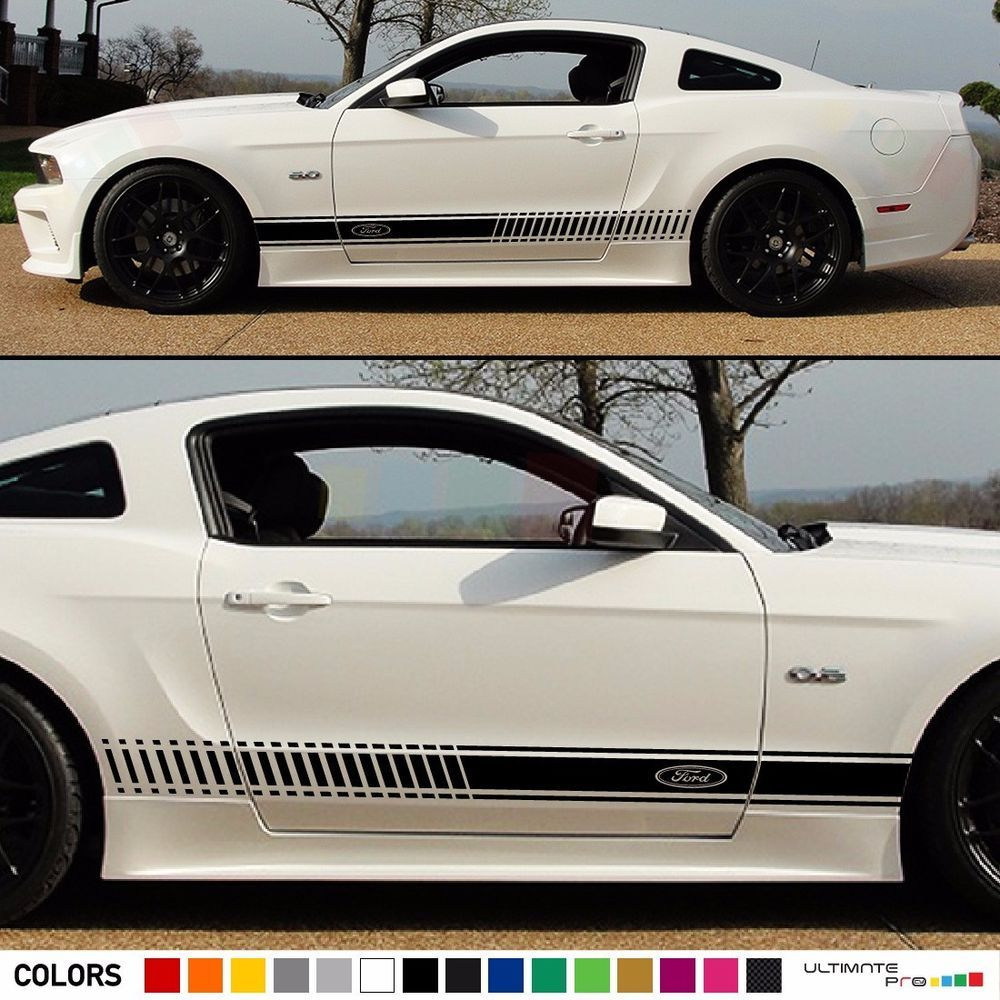 2 Decal Sticker Stripes Kit For Ford Mustang Gt Body Panel Spoiler Hood Grille Ultimateprocy Buy Used Cars Ford Mustang Gt Ford Mustang [ 1000 x 1000 Pixel ]