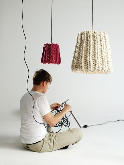 Pin By Camille Besancon On Decoration Interieure In 2020 Crochet Lamp Diy Lamp Diy Lighting