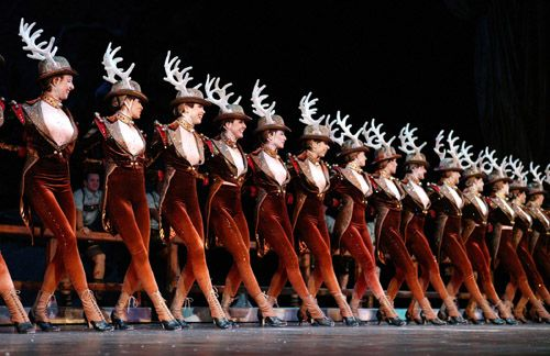 Rockette Seating Chart
