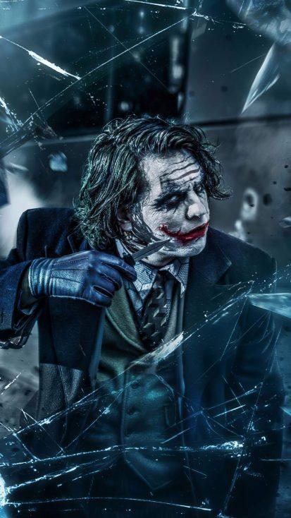 Joker With Knife Iphone Wallpaper In 2020 Joker Iphone Wallpaper Batman Joker Wallpaper Joker Wallpapers