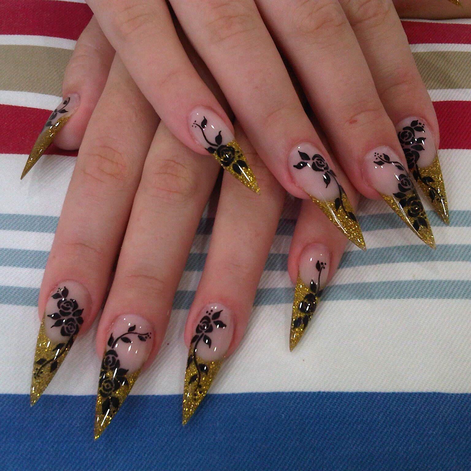 Acrylic nails design by NCN nail academy, Pattaya | NCN Nail Academy ...
