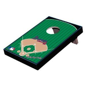Tailgate Toss TOPGM-MLB1 MLB Table Top Bean Bag Toss Game MLB Team: Milwaukee Brewers