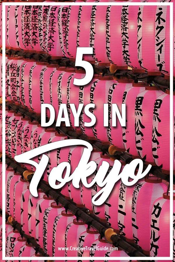 Tokyo is one of the places in the world that most people want to and should try to experience at least once in their lifetime. We stayed in Tokyo for 5 nights during our travels around Asia and it still wasn't enough. Here is how we spent 5 days in Tokyo.  #Tokyo #Japan #TokyoThingsToDo #TokyoItinerary #JapanThingsToDo
