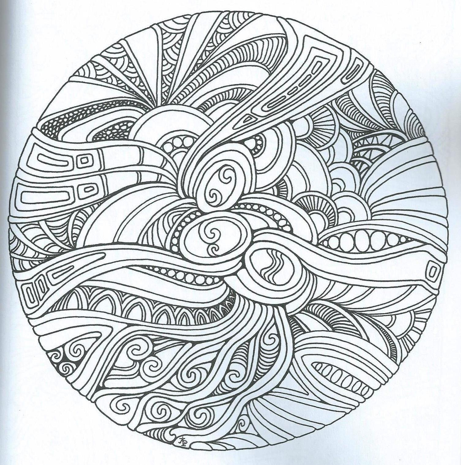 Zentangle | Mandalas | Pinterest | Adult coloring, Mandala and Doodles