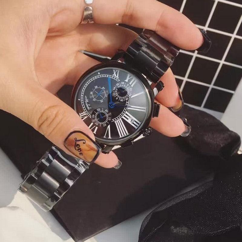 33.14$  Buy here  - Luxury Brand Full Steel Women Black Watches Fashion Casual Quartz Ladies Wrist Watch relogio feminino relojes mujer 2016