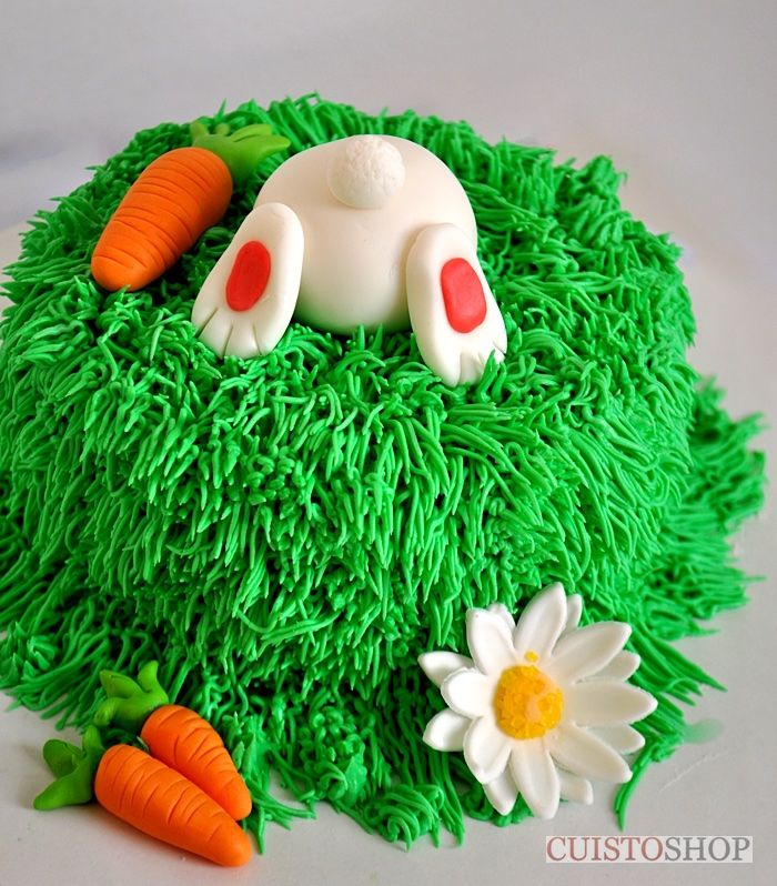 decoration gateau lapin