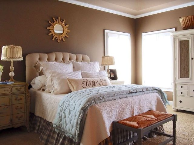 Couleur de chambre 100 id es de bonnes nuits de sommeil - Quelle couleur pour chambre adulte ...