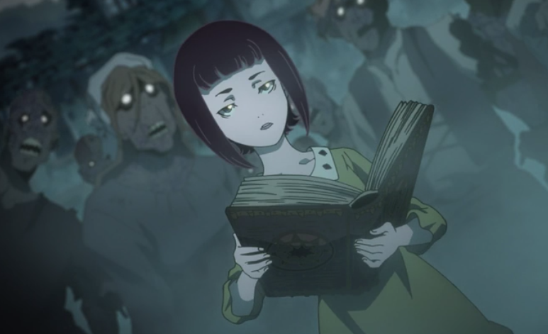 Episode 03 The Village Really Is Rundown And Inhabited With Zombies Favaro And Amira Show Themselves And Confront The Japanese Anime Series Anime Necromancer