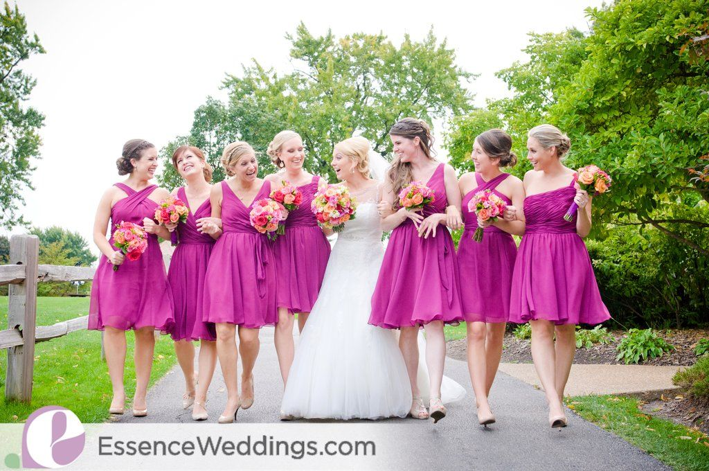 Fall Wedding Colors with a Purple and Orange Twist | Mix match ...
