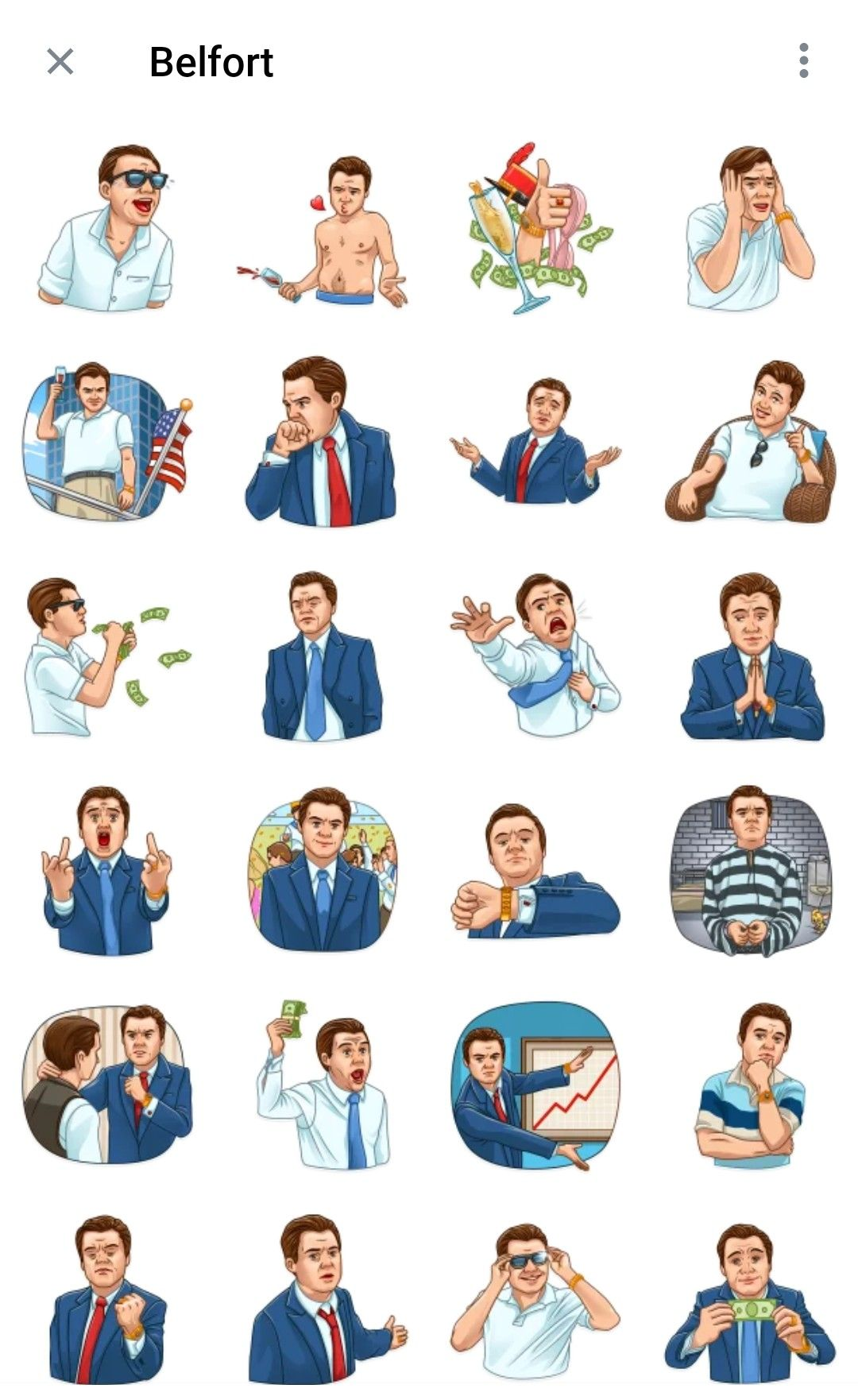 Belfort Telegram sticker packs   Telegram stickers, Stickers packs ...