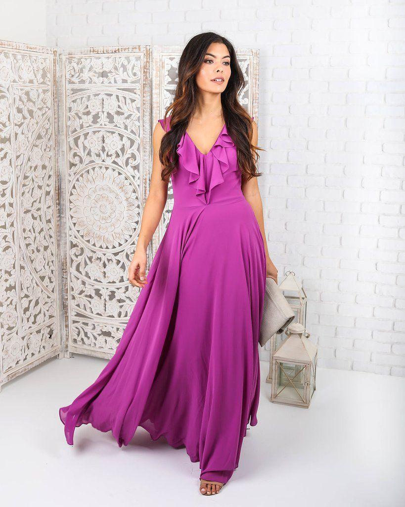 Lilias Maxi Dress