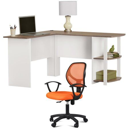 Strange Desk And Chair Set L Shaped Desk With Side Storage Ibusinesslaw Wood Chair Design Ideas Ibusinesslaworg